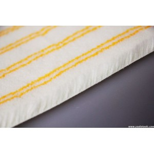 FB 005 YUDA Acylic double yellow strips roller fabric