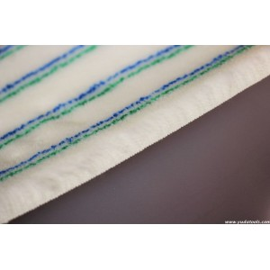FB 008 Acrylic bg mixed strips roller fabric