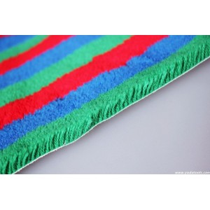 FB 016 Acrylic colorful strips roller fabric